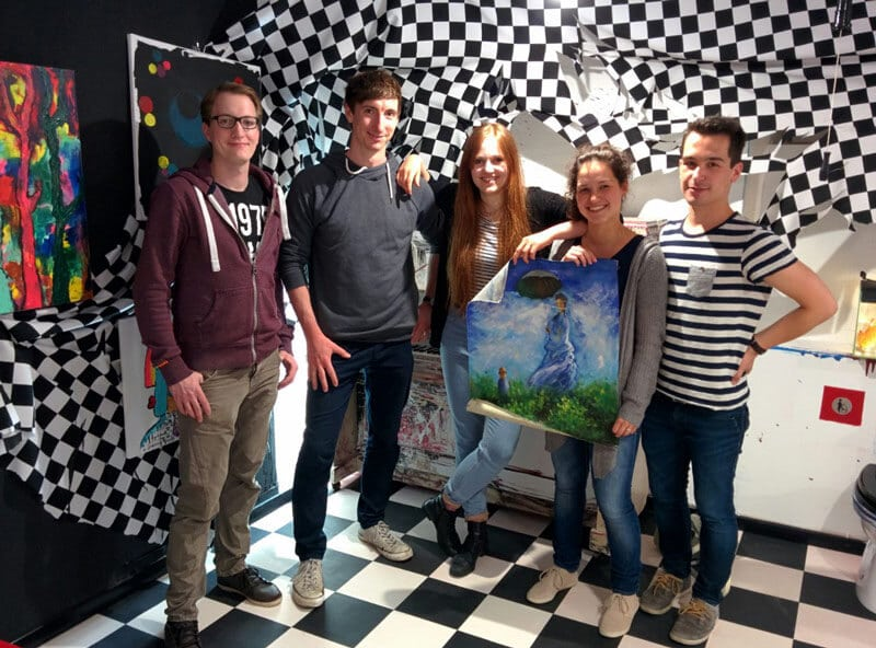 Teamfoto Live Escape Game München