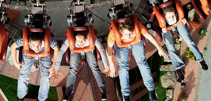 Scream Freefalltower Heide Park Soltau