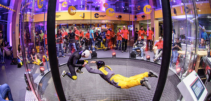 Hurricane Factory Indoor Skydiving