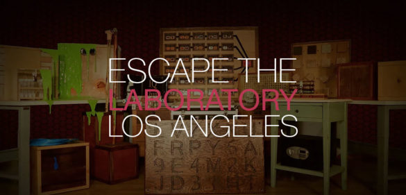 The Laboratory Escape Game Los Angeles