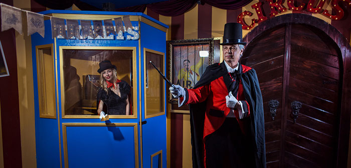 Maze Rooms Los Angeles – World of Illusions | Live Escape Game 27