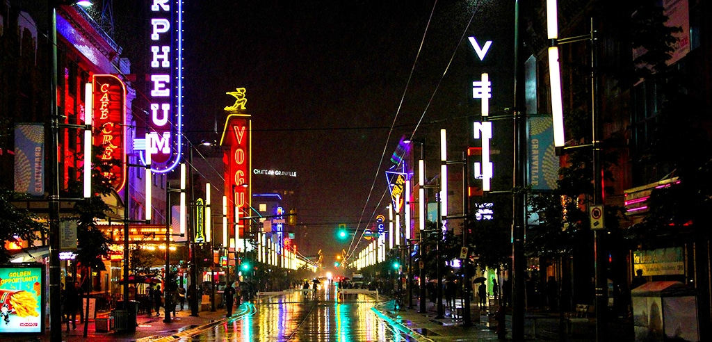 Vancouver Partytipps - Granville Street