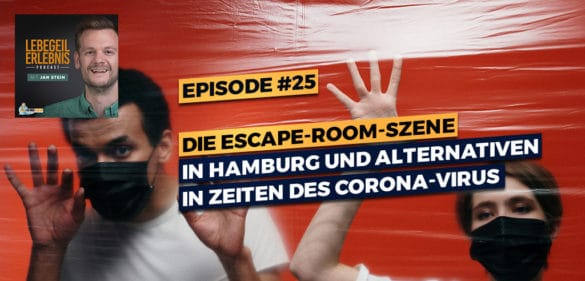 Philip über die Escape-Room-Szene in Hamburg und Coronavirus-Alternativen 28